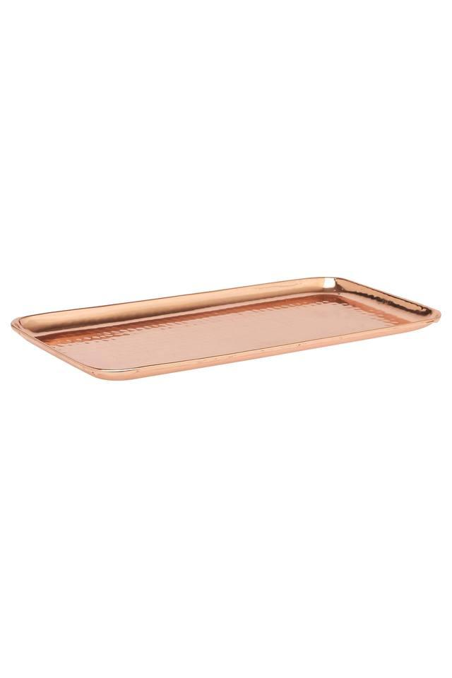 Rectangular Solid Textured Tray