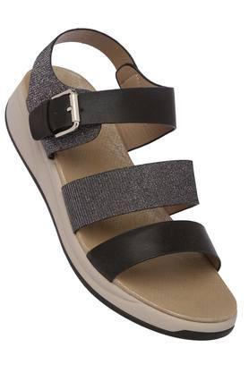 FEMINA FLAUNTWomens Casual Wear Buckle Closure Sandals - 204133650_9204