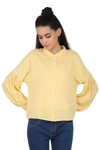 Womens Striped Casual Shirt