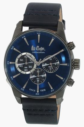 LEE COOPER Mens Leather Chronograph Watch - LC06361099