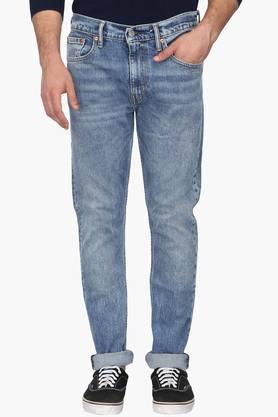 LEVISMens 5 Pocket Slim Fit Stone Wash Jeans