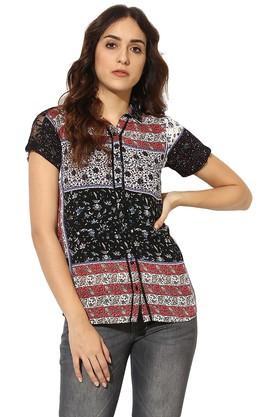 Womens Printed Casual Shirt
