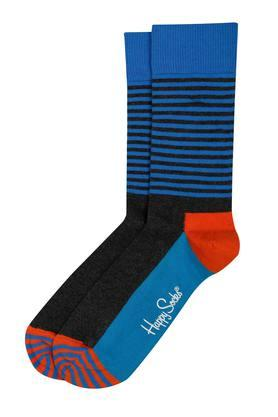HAPPY SOCKS Mens Striped Socks