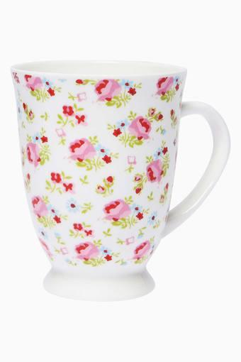 Round Marquree Blush Printed Mug - 350ml