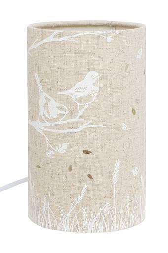 Cylindrical Slub Table Lamp