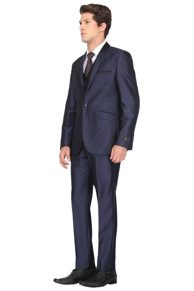 Mens Shawl Lapel Solid Suit