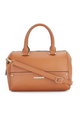 CERIZWomens Zipper Closure Satchel Handbag - 204893657_9124