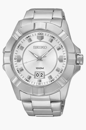 SEIKOMens Lord Analog White Dial Watch - SUR127P1