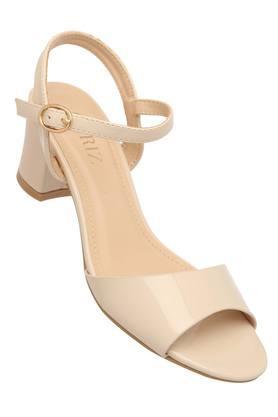 CERIZWomens Casual Wear Buckle Closure Heeled Sandals - 204864183_9111