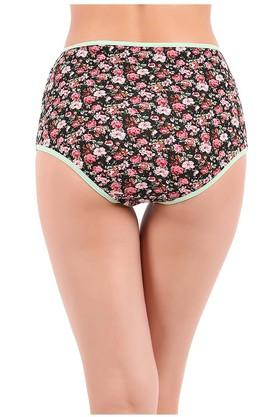 Womens Floral Print Hipsters