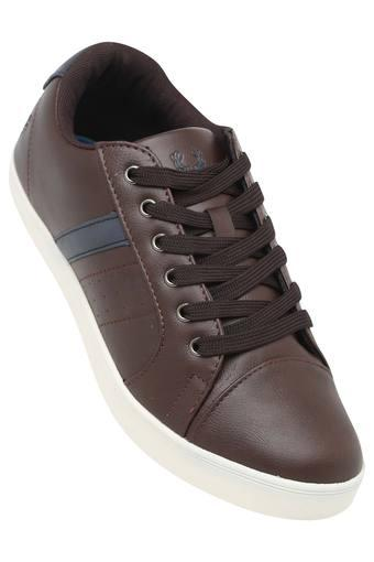 ALLEN SOLLY -  Brown Casuals Shoes - Main
