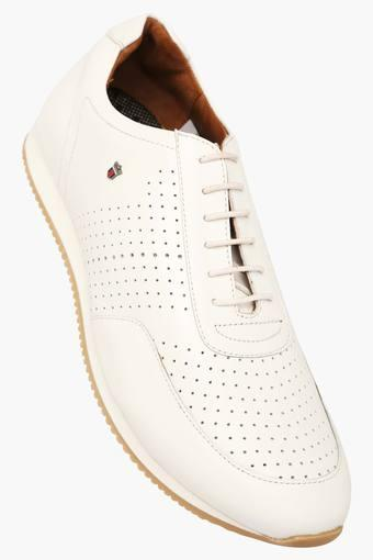 Buy LOUIS PHILIPPE Mens Leather Lace Up