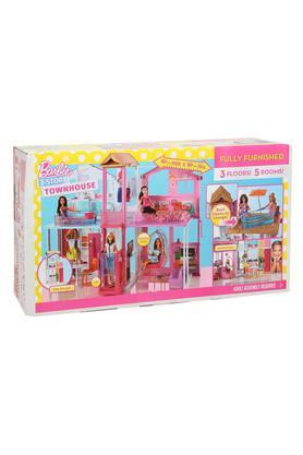 Unisex Barbie 3 Storey and 5 Bedroom Toy House