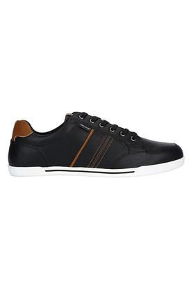 Mens Synthetic leather Lace Up Sneakers