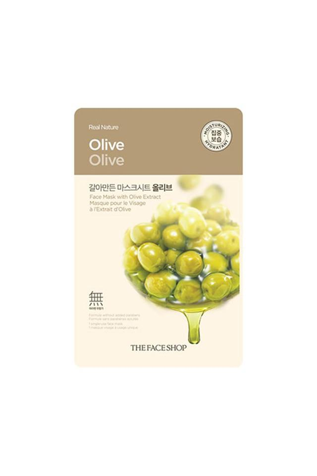 Real Nature Olive Face Mask