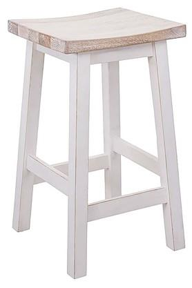 White Goeth Stool