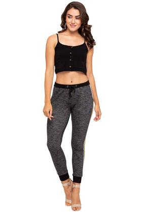 Womens Textured Joggers