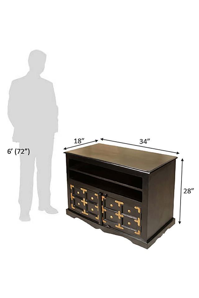 Black Reese TV Cabinet Unit