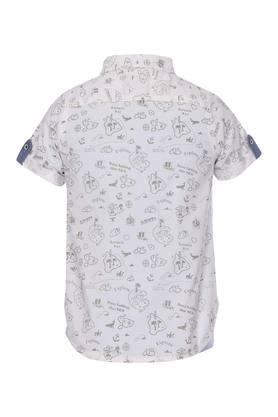Boys Printed Shirt with Tee