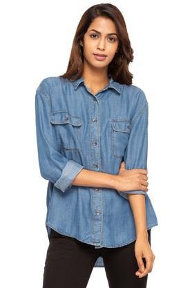 Womens Collared Assorted Shirt