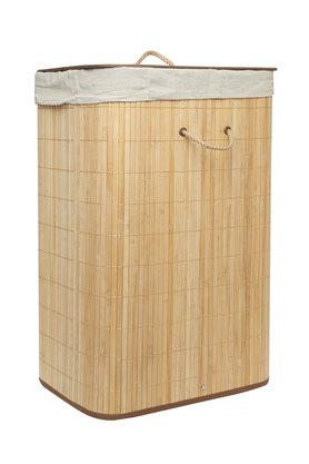 bfce092552b X BACK TO EARTH Rectangular Laundry Basket with Handle