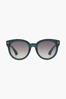 Womens Round Gradient Sunglasses