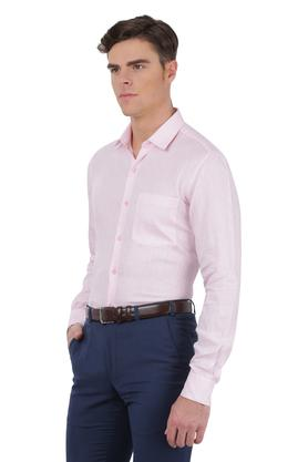Mens Slim Collar Slub Shirt