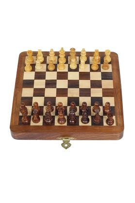 Magnetic Folding Chess Set 7