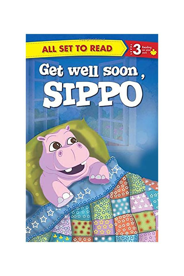 Get Well Soon Sippo: All Set to Read