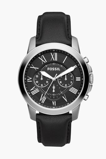 Mens Chronograph Leather Watch - FS4812I
