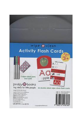 Wipe-Clean: Activity Flash Cards Letters: 26 double-sided wipe-clean flash cards - includes pen!