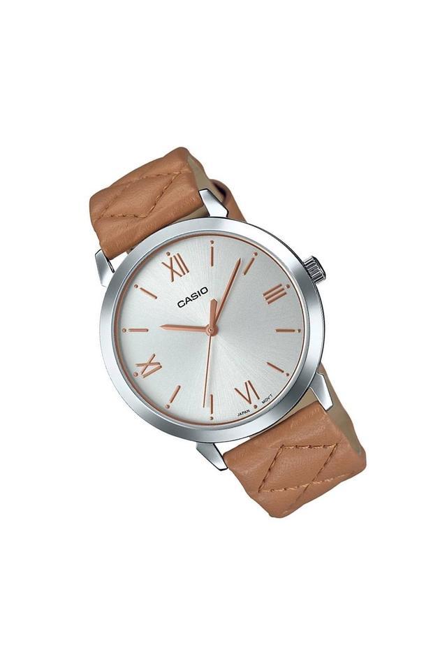 Unisex Analogue Leather Watch