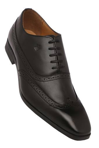 Mens Leather Lace Up Oxfords
