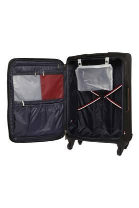 Unisex 1 Compartment Zipper Closure Soft Trolley