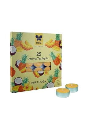 IRIS Pina Colada Tea Light Candle Pack Of 25