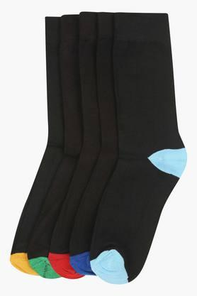 VETTORIO FRATINI Mens Solid Socks Pack Of 5