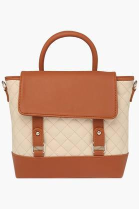 RS BY ROCKY STAR Womens Snap Closure Satchel Handbag