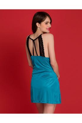 38a3735080 X CLOVIA Womens Solid Night Dress ...