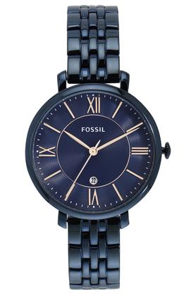 FOSSIL Womens Analogue Round Dial Watch - ES4094