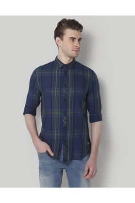9ac0ed9db24 X JACK AND JONES Mens Slim Fit Check Shirt