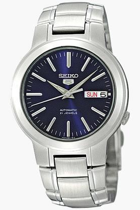 SEIKOMens 5 Analog Navy Dial Watch - SNKA05K1