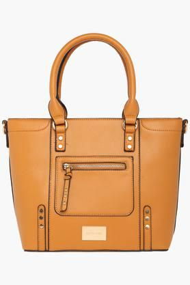 SATYA PAUL Womens Zipper Closure Satchel Handbag - 203029041