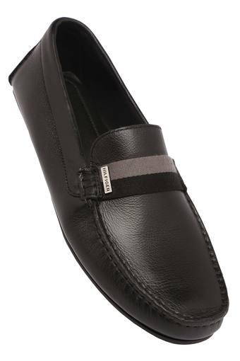 794637658b48 Buy TOMMY HILFIGER Mens Leather Slipon Loafers