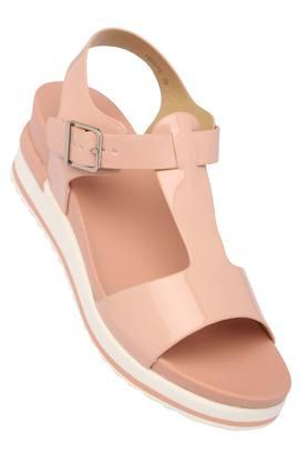 FEMINA FLAUNTWomens Casual Wear Buckle Closure Sandals - 204133643_9557