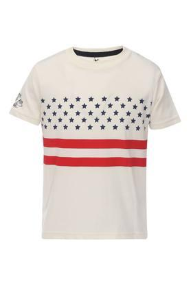 943591e2 X U.S. POLO ASSN. Boys Round Neck Printed Tee. U.S. POLO ASSN.