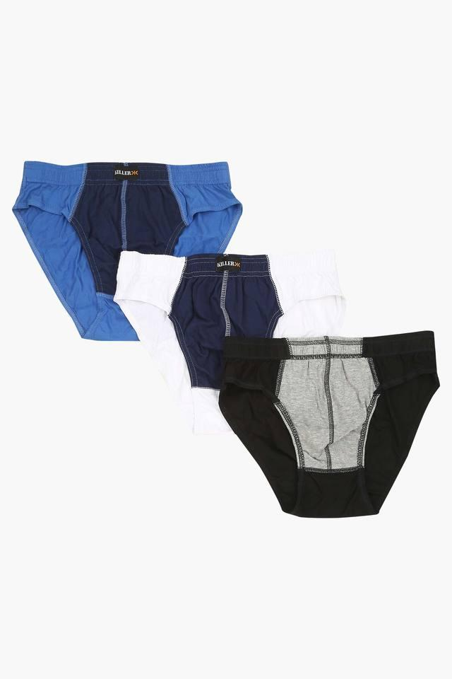Mens Colour Block Briefs Pack of 3