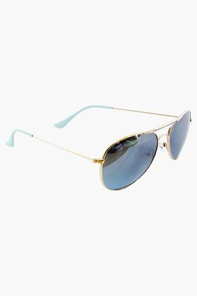 7665663dc4 X FASTRACK Unisex Aviator UV Protected Sunglasses ...