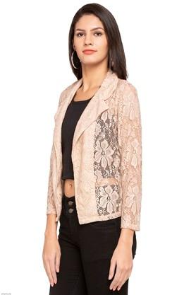 Womens Lace Casual Shrug