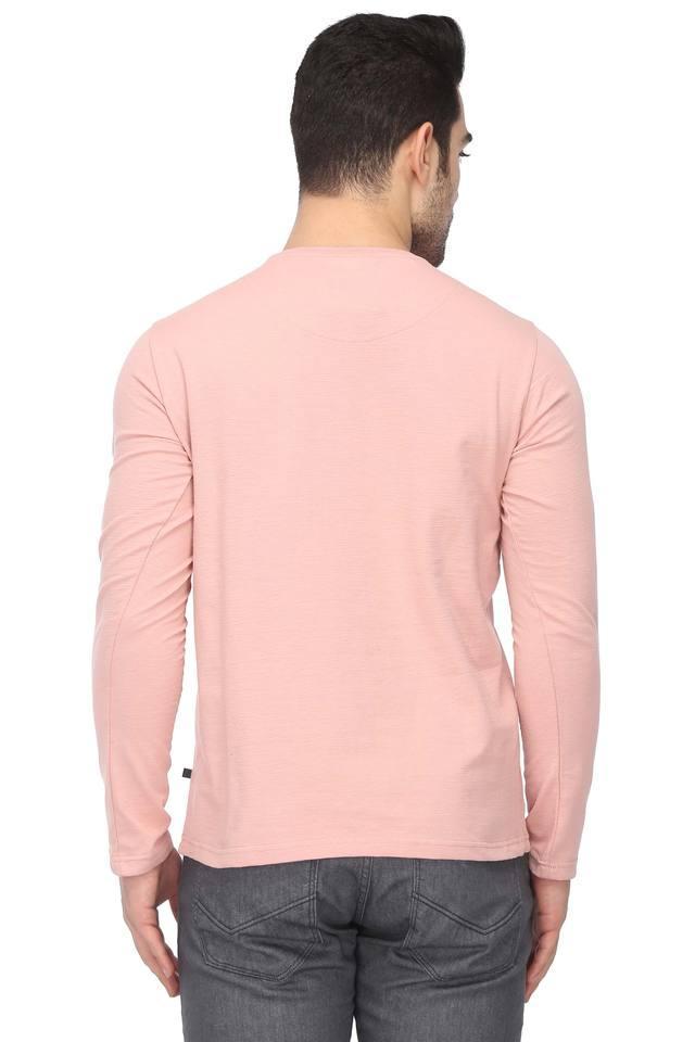 Mens Crew Neck Printed T-Shirt