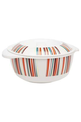 STYLO Color Of Friend Round Printed Casserole With Lid